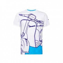 T-shirt Young Vespa