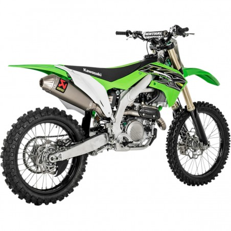 Escape Completo Akrapovic Evolution Kawasaki KX450F